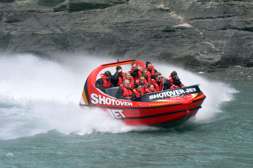 best jet boat tours nz
